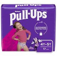 Huggies Pull Ups Ld 4T-5T Girl, 17 Each