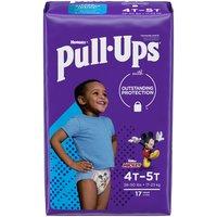 Huggies Pull-Ups Learning Designs Boys' Training Pants, 4T-5T, 17 Each