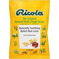 Ricola Cough Drops, Natural Herb, 21 Each