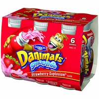 Danimals Strawberry Smoothie, 3.1 Ounce