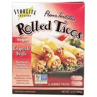 Starlite Chipotle Vegan Chicken Tacos, 12 Ounce