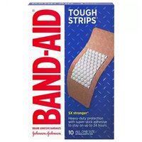 Band-Aid Tough Strips, Extra Large, 10 Each