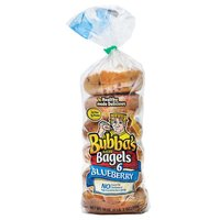 Bubba's Bagels, Blueberry, 18 Ounce