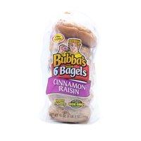 Bubba's Bagels, Cinnamon Raisin, 18 Ounce