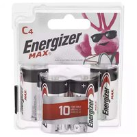 Energizer Max Alkaline Battery, C, 4 Each