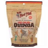 Bob's Red Mill Organic Tri-Color Quinoa, Whole Grain, 13 Ounce