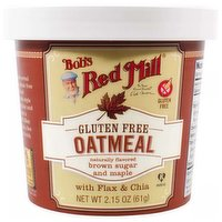 Bob's Red Mill Oatmeal, Brown Sugar Maple, 2.15 Ounce