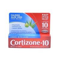 Cortizone 10 Anti-Itch Creme, Maximum Strength, Aloe Vera, 1 Ounce
