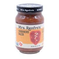 Mrs. Renfro's Salsa, Habanero, Hot, 16 Ounce
