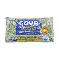 Goya Green Split Peas, 16 Ounce