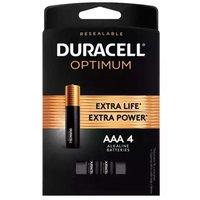 Duracell Optimum Alkaline Batteries, AAA, 1 Each