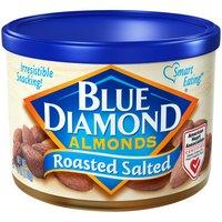 Blue Diamond Almonds, Roasted, Salted, 6 Ounce