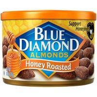Blue Diamond Roasted Almonds, Honey , 6 Ounce
