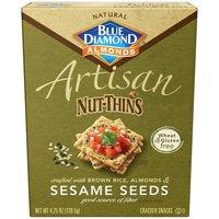 Blue Diamond Almonds Artisan Nut-Thins Sesame Seeds Cracker, 1 Ounce