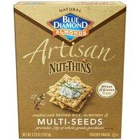Blue Diamond Artisan Nut<li>Thins Crackers, Multi<li>Seeds, 1 Ounce