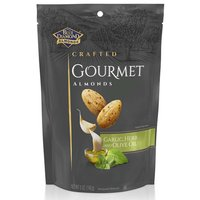 Blue Diamond Crafted Gourmet Almonds, Garlic & Olive Oil, 5 Ounce
