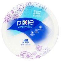 """Dixie 8 1/2"""" Plate, 48 Each"""