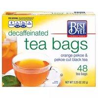 Best Yet Decaffeinated Tea Bags, 48 Each