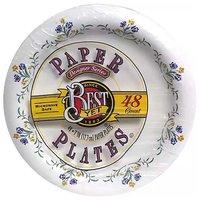 "Best Yet Designer Paper Plates, 7"", 48 Each"
