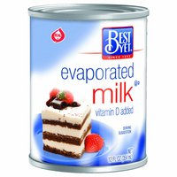 Best Yet Evaporated Milk, 12 Ounce