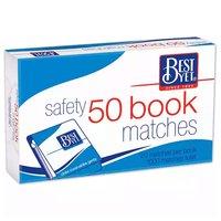 Best Yet Book Matches, 50 Each
