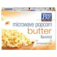 Best Yet Microwave Butter Popcorn, 9.9 Ounce