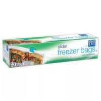 Best Yet Freezer Bags Gallon Slider, 13 Each