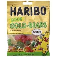 Haribo Gummi, Sour Gold Bears, 4.5 Ounce