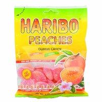 Haribo Gummies, Peaches, 5 Ounce