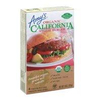 Amy'sOrganic California VeggieBurger, 10 Ounce