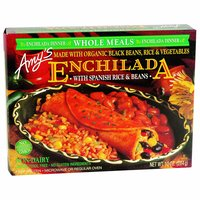 Amy'sOrganic Enchilada,  Black Bean, 10 Ounce