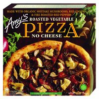 Amy's Organic Pizza, Roast Vegetable, No Cheese, 12 Ounce