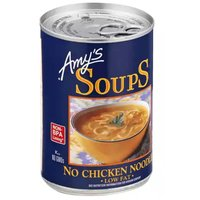 Amy's Organic Soup, No Chicken Noodle, Low Fat, 14.1 Ounce