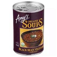 Amy's Organic Soup, Black Bean Vegetable , 14.5 Ounce