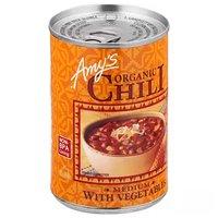 Amy's Organic Chili, Medium, Vegetables, 14.7 Ounce
