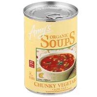 Amys Chunky Vegetable Soup, 14.3 Ounce