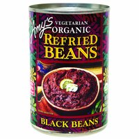 Amy's Organic Refried  Black Beans, 15.5 Ounce