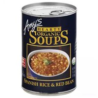 Amy's Organic Hearty Soup, Spanish Rice & Red Bean, 14.7 Ounce