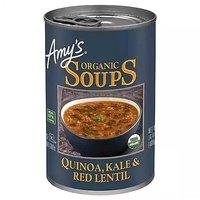 Amy's Organic Quinoa Kale & Red Lentil Soup , 1 Ounce