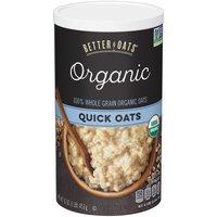 Better Oats Organic Quick Oats, 16 Ounce