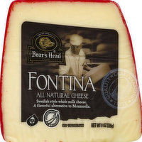 Boar's Head All Natural Fontina Cheese, 0.56 Ounce