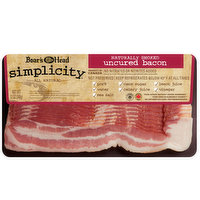 Boar's Head Naturally Smoked Uncured Bacon, 12 Ounce