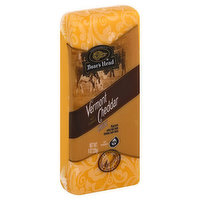 Boar's Head All Natural Vermont Cheddar Cheese, 8 Ounce