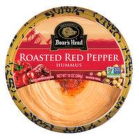 Boar's Head Red Pepper Hummus, 10 Ounce