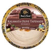 Boar's Head Kalamata Olive Tapenade Hummus, 10 Ounce