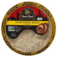 Boar's Head Hummus, Everything Bagel, 10 Ounce