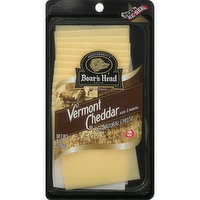 Boar's Head Vermont Cheddar Sliced Cheese, 8 Ounce