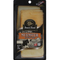 Boar's Head Muenster Sliced Cheese, 8 Ounce
