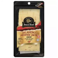 Boar's Head Monterey Jackwith Jalapeno Sliced Cheese, 8 Ounce