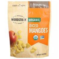 Woodstock Organic Diced Mangoes, 10 Ounce